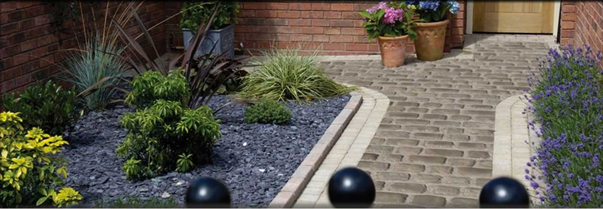 Courtyard with Block Paving
